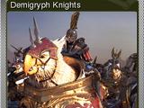 Total War: WARHAMMER - Demigryph Knights