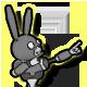 Boo Bunny Plague Badge 5