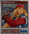 Guilty Gear X2 Reload Foil 08