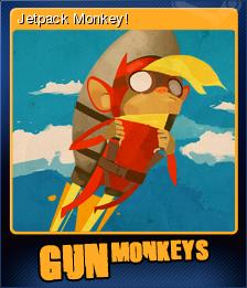 Gun Monkeys Card 1