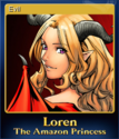 Loren The Amazon Princess Card 5