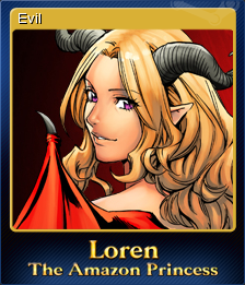 Loren The Amazon Princess Card 5