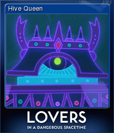 Lovers in a Dangerous Spacetime Card 7