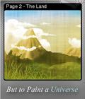 But to Paint a Universe Foil 06