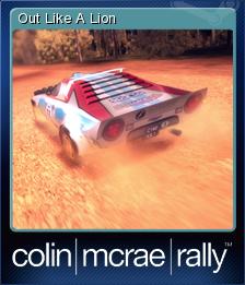 Colin McRae Rally Card 6