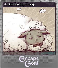 Escape Goat Foil 3