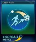 Football Tactics Card 02