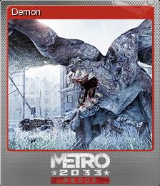 Metro 2033 Redux Foil 3