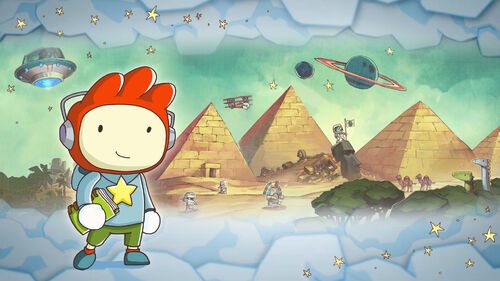 Scribblenauts Unlimited Artwork 4