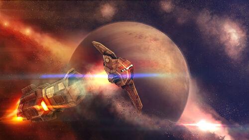 Beyond Space Artwork 2
