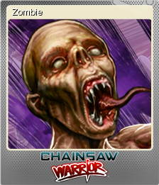 Chainsaw Warrior Foil 5