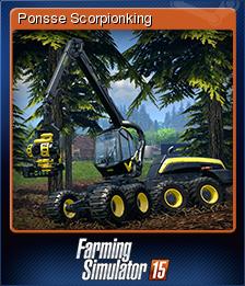 Farming Simulator 15 - Ponsse Scorpionking | Steam Trading