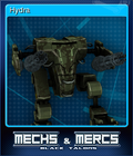 Mechs Mercs Black Talons Card 3