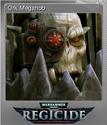 Warhammer 40,000 Regicide Foil 06