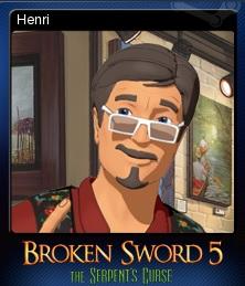 Broken Sword 5 Card 2
