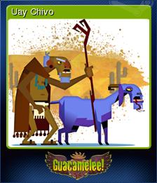 Guacamelee Card 9