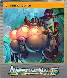 Awesomenauts Foil 11