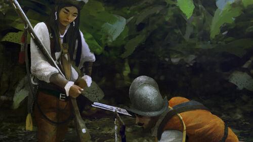 Female Conquistador artwork