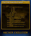 Hacker Evolution Card 5