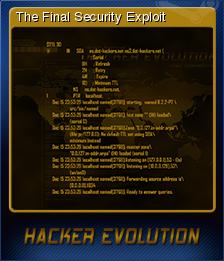 Hacker Evolution Card 5