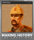 Making History The Great War Foil 4