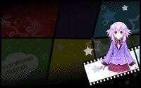 MegaTagMension Blanc + Neptune VS Zombies Background Neptune Background