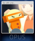 OPUS The Day We Found Earth Card 5
