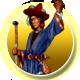Realms of Arkania 1 Badge Foil