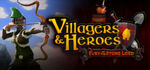 Villagers and Heroes Logo