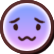 Agarest Generations of War Zero Emoticon Furrowed
