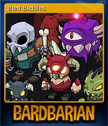 Bardbarian Card 5