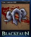 Blackfaun Card 9