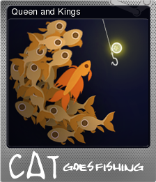 Cat Goes Fishing Queen And Kings Steam Trading Cards