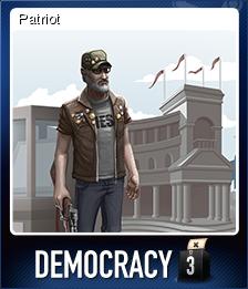 Democracy 3 Card 3