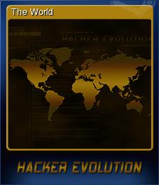 Hacker Evolution Card 1