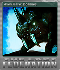 The Last Federation Card 03 Foil