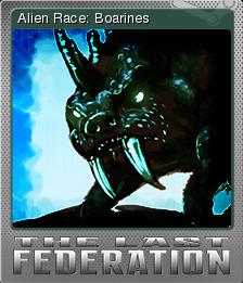 The Last Federation Card 03 Foil