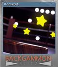 Backgammon Blitz Foil 2