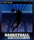 Basketball Pro Management 2015 Card 8