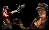 Call of Duty Black Ops II Zombies Background Farmgirl