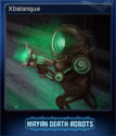 Mayan Death Robots Card 5