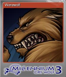Millennium 3 Cry Wolf Foil 3