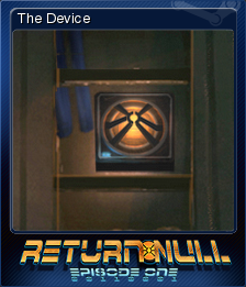 Return NULL - Episode 1 Card 1