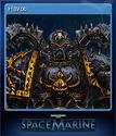 Warhammer 40,000 Space Marine Card 7
