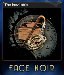 Face Noir Card 6