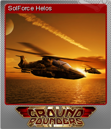 Ground Pounders Card 02 Foil