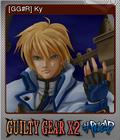 Guilty Gear X2 Reload Foil 09