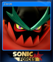 Sonic Forces Card 13