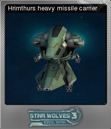 Star Wolves 3 Civil War Foil 8