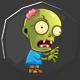 Zombie Wars Invasion Badge 1